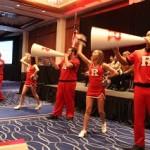 RU Spirit with the Cheerleaders
