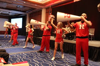 RU Spirit with the Cheerleaders