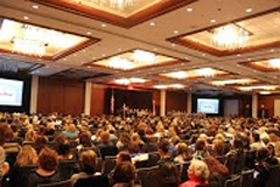 Over 1100 educators at the Annual Conference